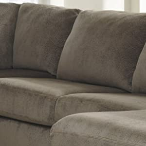 Awesome Signature Design By Ashley Jessa Place Sectional In Dune Fabric Gmtry Best Dining Table And Chair Ideas Images Gmtryco