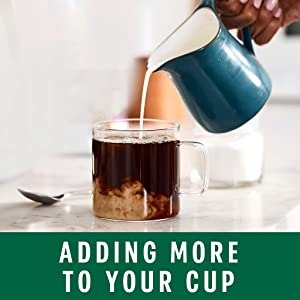 Adding More to Your Cup