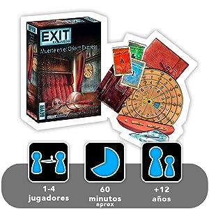 exit orient express devir juego de mesa divertido diversion jugar regalo amigos familia