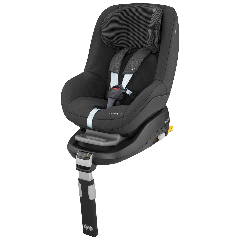Bébé Confort Pearl, Silla de coche grupo 1 Isofix, negro (Black ...