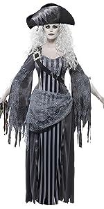 Damen Geisterschiff Prinzessin Kostüm