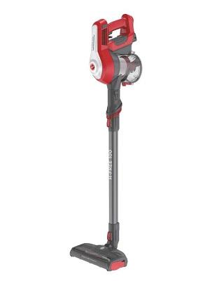 Hoover H FREE 100 HF122RH Aspiradora Escoba sin Cable, Sistema Ciclónico, Cepillo Suelos Duros, Accesorios Integrados, Luces LED, Depósito 0.9L, Batería Extraíble Litio 22 V, 40 min, 2 Velocidades: Amazon.es: Hogar