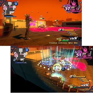 毒の沼 ゲーム画面