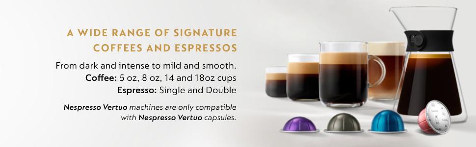 Nespresso cup sizes