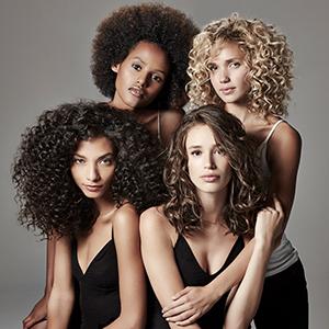 Ouidad The curly hair expert hair models