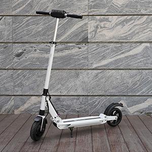 RCB Patinete Eléctrico E Scooter Plegable, Ultraligero para Adultos y Adolescentes Potente Motor, Velocidad Máx 30 km/h, 350 Vatios, Altura del ...