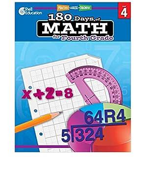 180 Days of Practice, Maths Practice Workbook for Kids