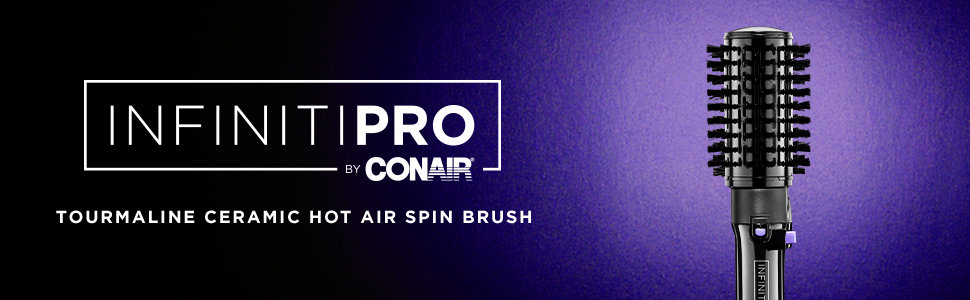Conair Infiniti Pro Spin Air Rotating Styler 2 Inch And 1
