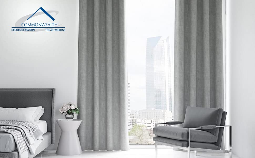 NEW ThermaLogic Ultimate Blackout Thermal Insulated Curtain Liner No Sewing!