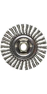 Weiler 13138 Roughneck Max Stringer Bead Stainless Steel