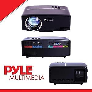 Amazon.com: PyleProyector de cine en casa multimedia ...