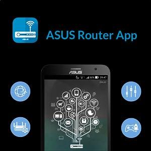 ASUS, RT-AX88U, Wi-Fi, Router, AX6000, AiMesh