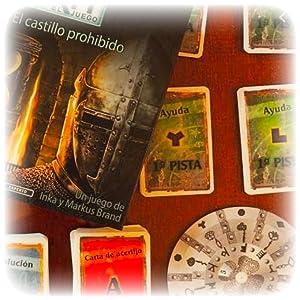 exit el castillo prohibido devir juego de mesa divertido diversion jugar regalo amigos familia