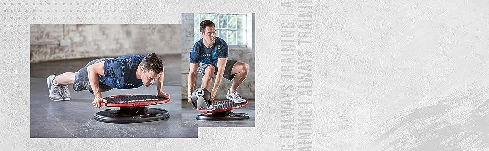 60 kostenlose Übungen *Premium* Reebok CORE BOARD
