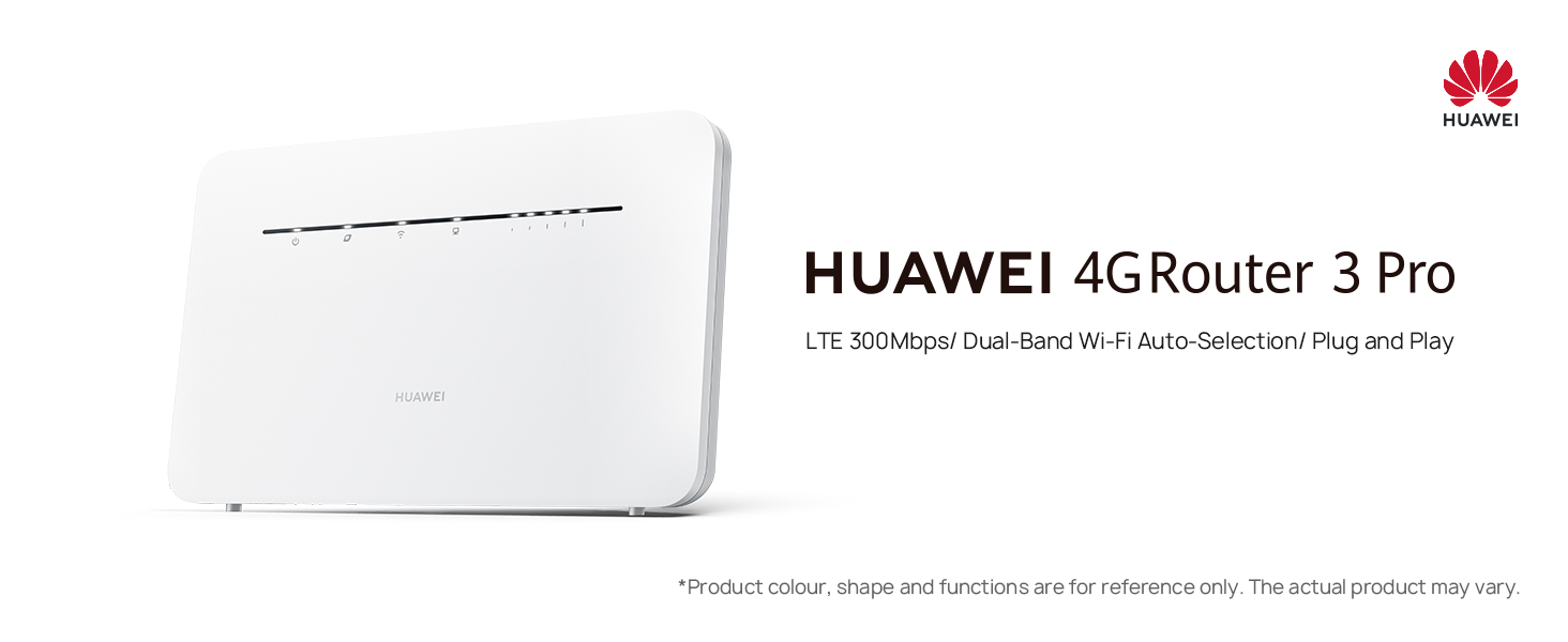 HUAWEI 4G Router 3 Pro B535 - Mobile WiFi 4G LTE (CAT.7) con ...