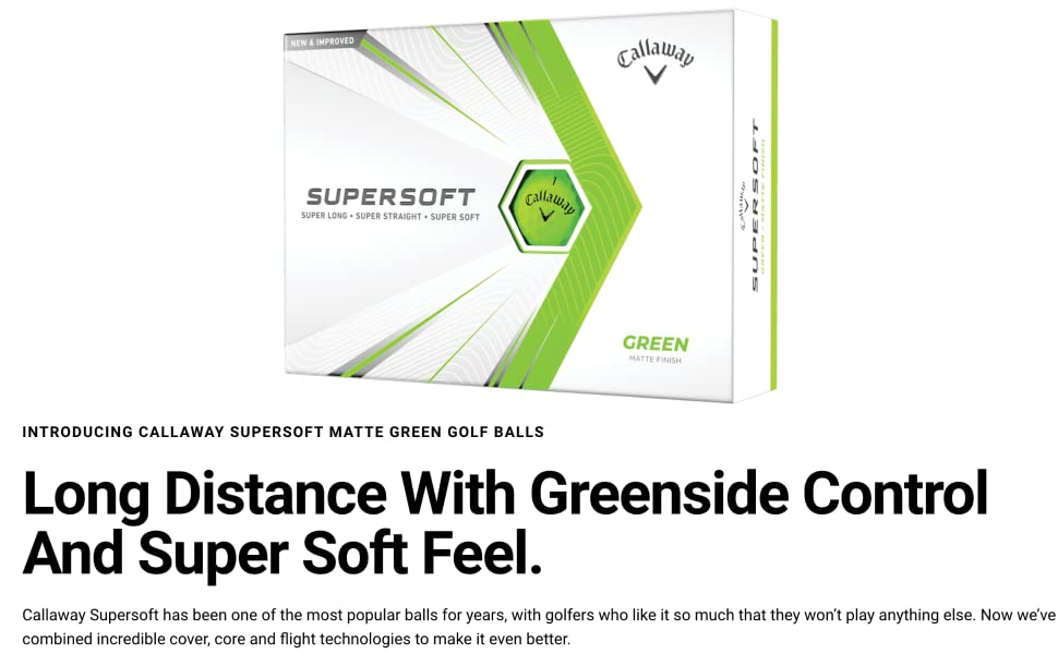 supersoft green