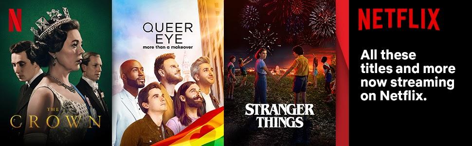 Netflix, TV, Stranger Things, Crown