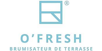O Fresh 022 Lot De 5 Extensions De Buses Pour Brumisateur Terrasse