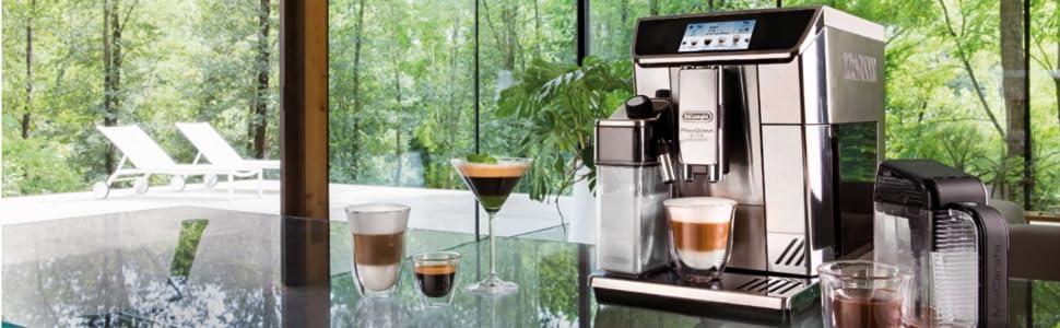 Delonghi coffee; Primadonna elite experience; fully automatic coffee machine; italian coffee machine