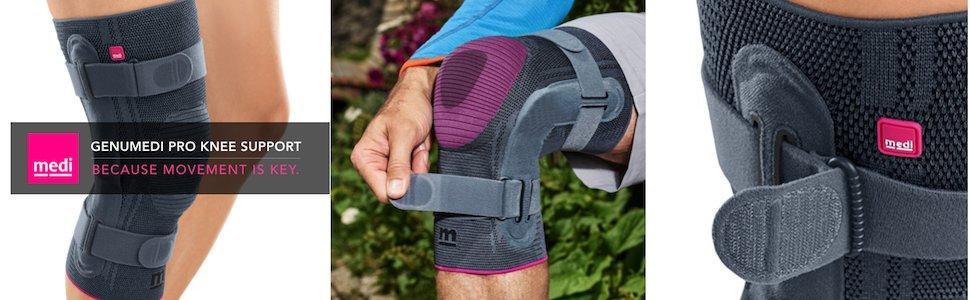 c64fc377c8 Amazon.com: Genumedi Pro Knee Support for Men & Women: Sports & Outdoors