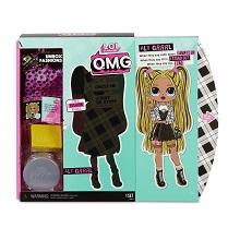 Amazon Com L O L Surprise O M G Alt Grrrl Fashion Doll With 20 Surprises Multicolor Toys Games