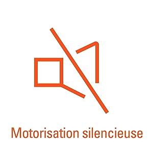 Stille functie, geruisloze motorisatie.