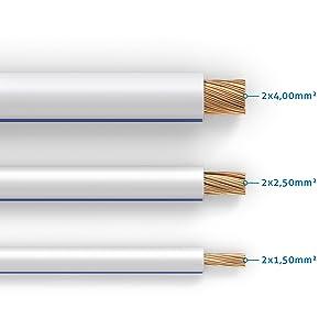 Purelink Sp011 010 Lautsprecherkabel 2 X 2 5mm Hifi Elektronik
