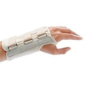 Black Brace with Straps and D-Ring Connectors to Secure and Stabilize Hands and Wrists Size X-Small Fits Wrists up to 5.75 Rolyan D-Ring Right Wrist Brace 8.25 Long Length Support