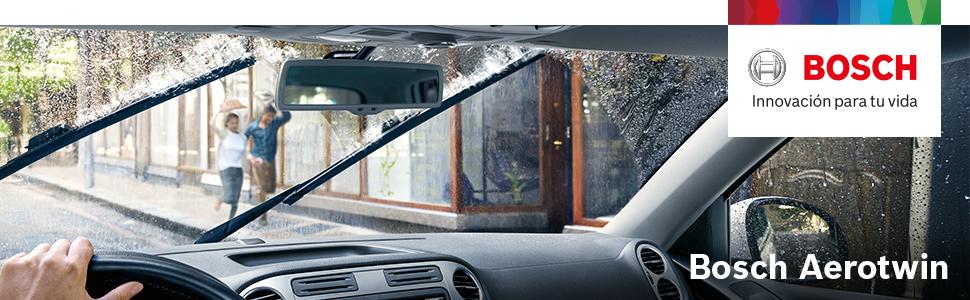 Escobilla limpiaparabrisas Bosch Aerotwin AP26U, Longitud: 650mm – 1 escobilla limpiaparabrisas para el parabrisas frontal: Amazon.es: Coche y moto