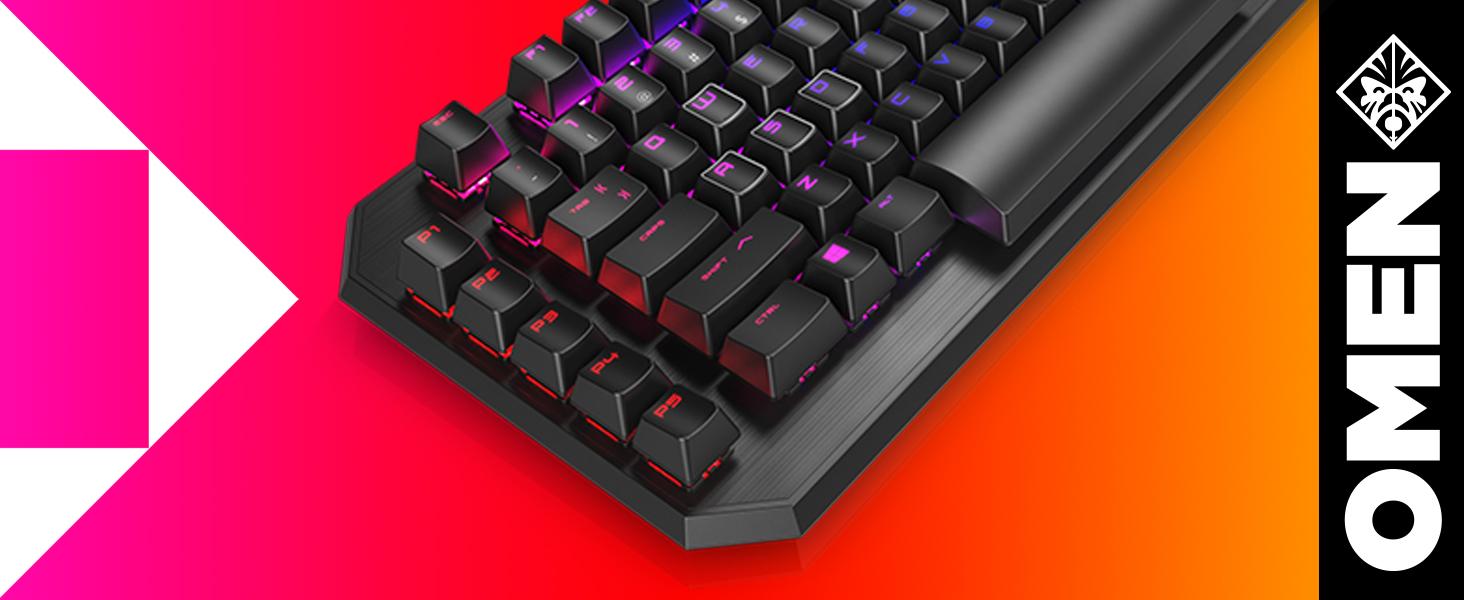 Omen Sequencer Gaming Tastatur Schwarz Computer Zubehör