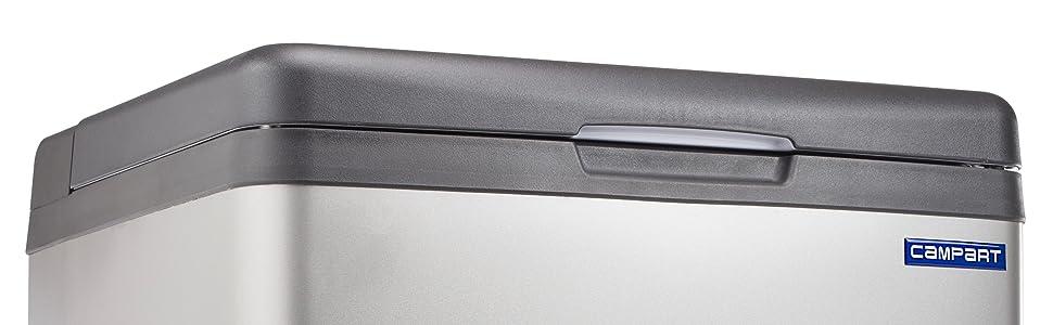CAMPART Travel CB-8676 nevera portátil, Gris, capacidad 41 litros ...