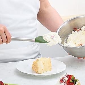 spatula flipper turner spreader blender tool utensil mixer mixing stirrer scraper tovolo flex core