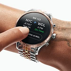 Michael Kors Access Sofie HR Smartwatch- Powered with Wear OS by Google with Heart Rate, GPS, NFC, and Smartphone Notifications