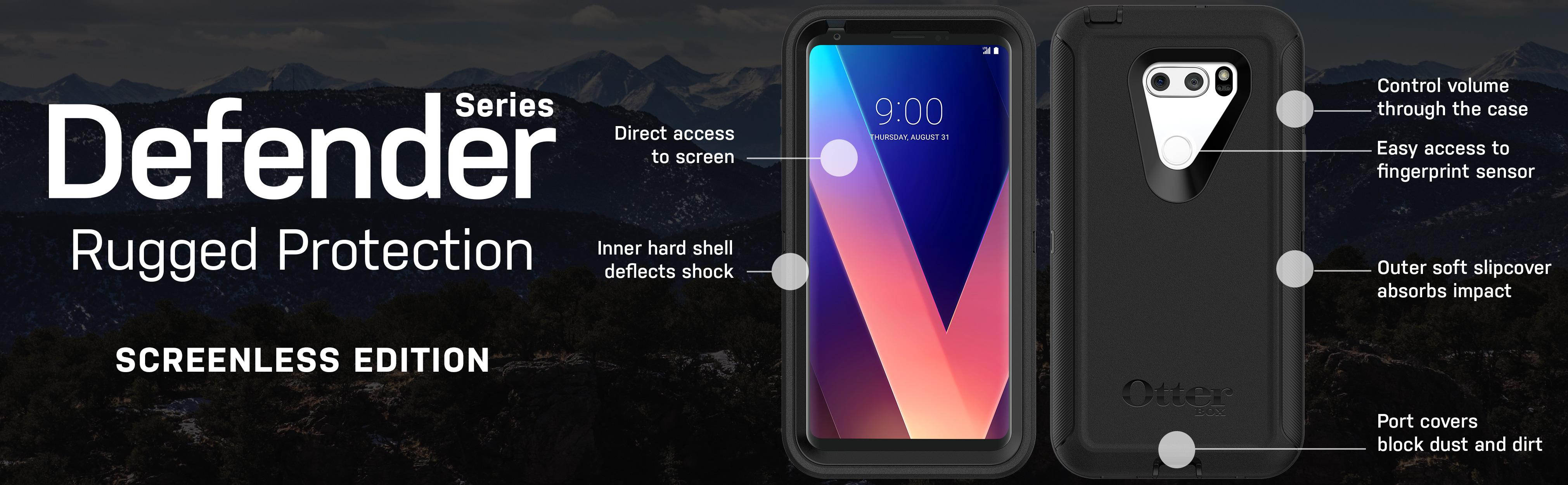 OtterBox DEFENDER SERIES SCREENLESS EDITION Case for LG V30