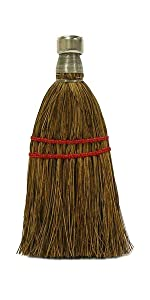 """Weiler 44099 7"""" Whisk Broom, Palmetto Fill, Pack of 12"""