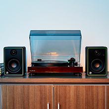 Mackie, Bookshelf Speakers, hifi, desktop, monitors, vinyl, stereo