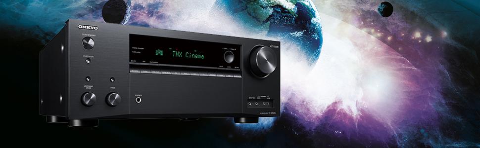 Onkyo TX-NR696(B) Receptor AV 7.2 (Sonido THX Cinema, Dolby/DTS:X ...