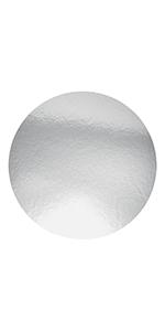 "Karat 8"" Foil Laminated Paper Board Lids For Foil Containers"