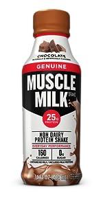 Muscle Milk Genuine Protein Shake, Chocolate