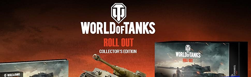 Amazon com: The World of Tanks Roll Out Collector's Edition - Xbox