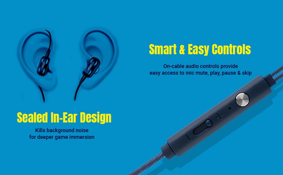 in-ear wired headset