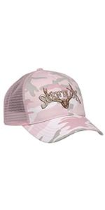 hat, woman, hunting, scentlok