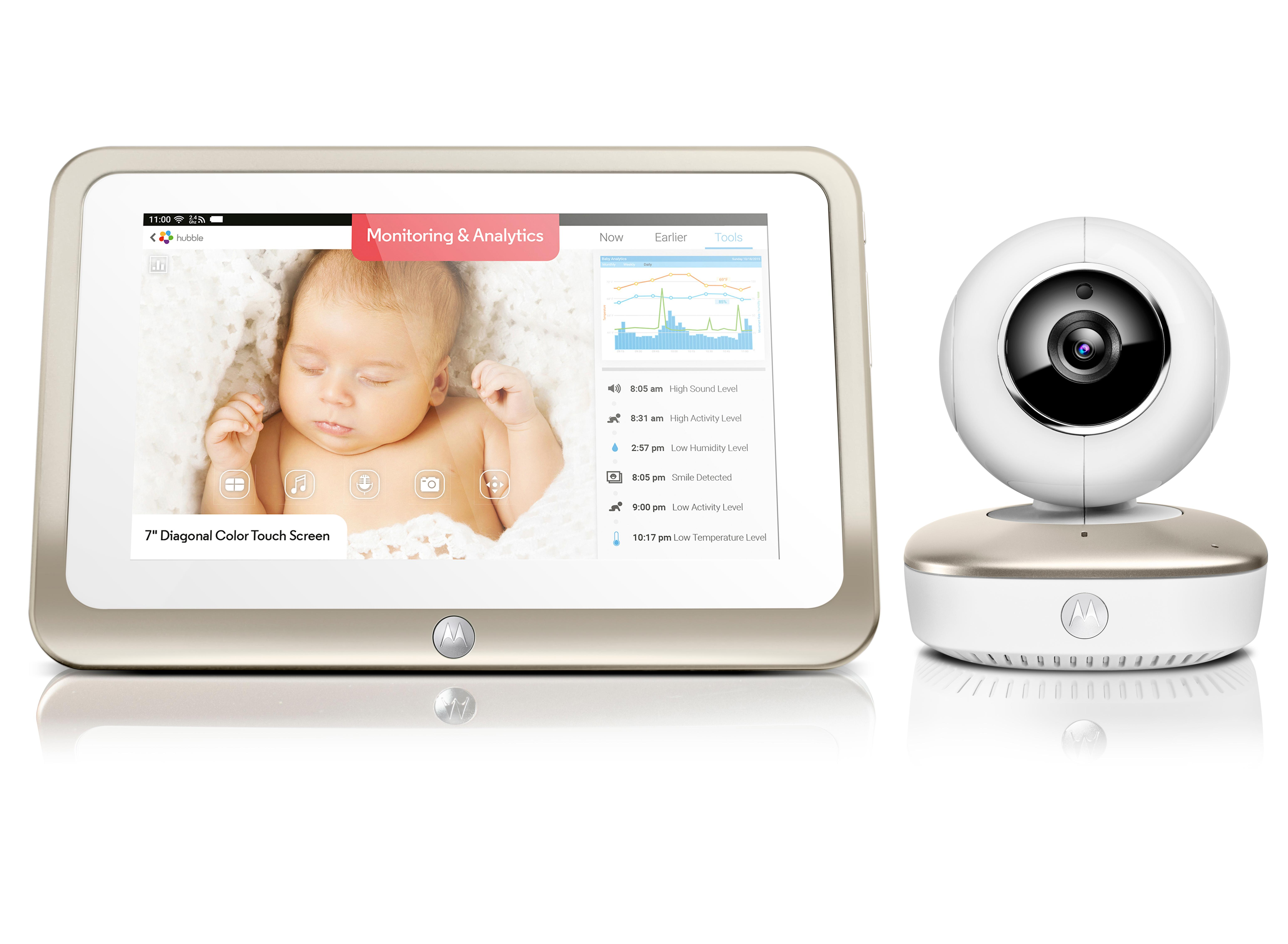 Motorola Smart Nursery 7 Baby Monitor With 8gb Sd Card Ebay