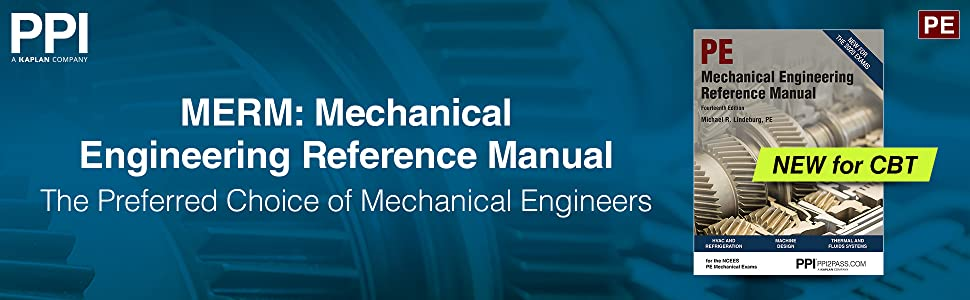 Mechanical Engineering Reference Manual The Preferred Choice of Mechanical Engineers