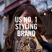 Image of a woman with text reading US NO. 1 STYLING BRAND