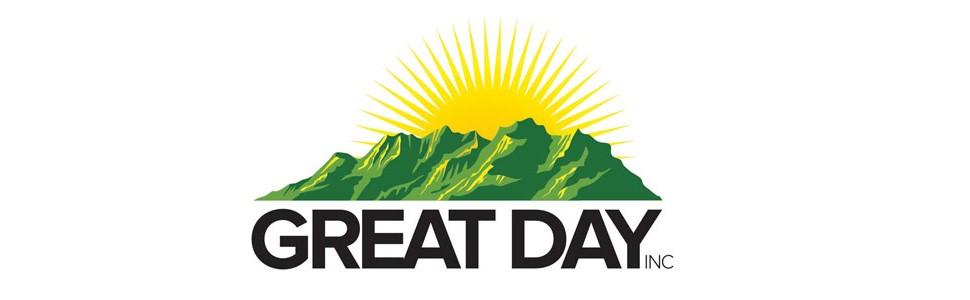 great day inc logo sunrise white background