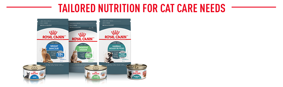 Royal Canin Feline Care Nutrition Range - Tailored Nutrition for Cat Care Needs
