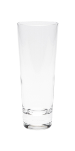 Compare the details of these crystal collins glasses.