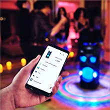 Run everything from the dancefloor   Music Center app
