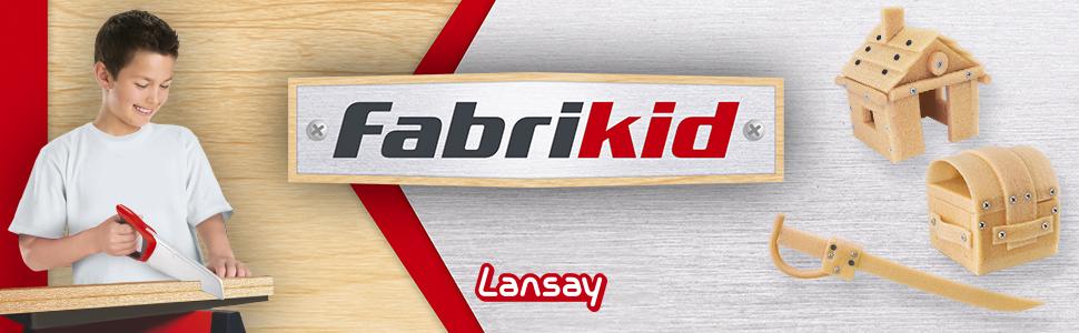 Lansay-15102-fabrikid kit de fabrication